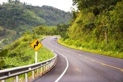 зеленая дорога Стоковые Фотографии RF