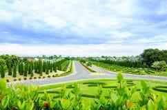 зеленая дорога Стоковое фото RF