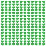 Зеленая открытка влюбленности Иллюстрация штока