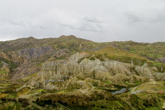 Зеленая долина около Ла Paz в Боливии Стоковые Фото