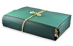 Зеленая папка Стоковые Изображения