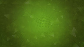 Зеленая полигональная абстрактная предпосылка Стоковая Фотография RF