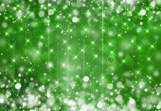Зеленая праздничная фантазия Стоковое Изображение RF