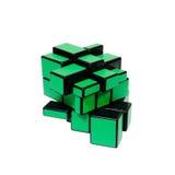 Зеленая превращаясь игрушка изолированная на белизне Стоковое фото RF