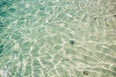 Зеленая предпосылка воды Стоковые Изображения