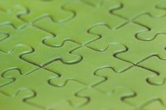 Зеленая предпосылка головоломки Цвет растительности Стоковые Изображения RF