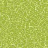 Зеленая предпосылка картины текстуры мозаики безшовная Стоковое фото RF
