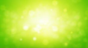 Зеленая предпосылка конспекта нерезкости Стоковая Фотография