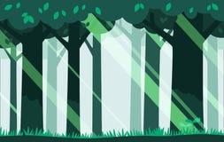 Зеленая предпосылка пущи Стоковые Изображения