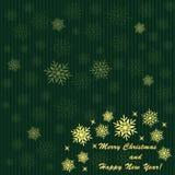 Зеленая предпосылка рождества бесплатная иллюстрация