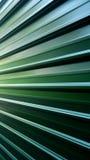 Зеленая предпосылка стального листа Стоковая Фотография