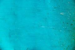 Зеленая предпосылка стены бирюзы Стоковое фото RF