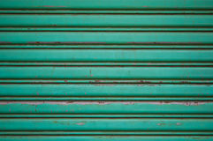 Зеленая предпосылка сделала металл Стоковая Фотография RF