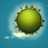 Зеленая планета Стоковые Изображения