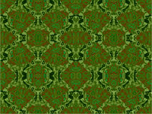 Зеленая решетка Стоковое Изображение RF