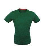 зеленая рубашка t стоковое фото