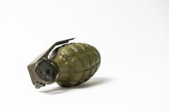 Зеленая ручная граната Стоковое Изображение RF