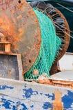 Зеленая сеть рыб Стоковые Изображения