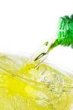 Зеленая сода питья энергии Стоковые Фотографии RF