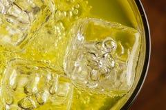 Зеленая сода питья энергии Стоковое Изображение