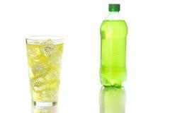 Зеленая сода питья энергии Стоковые Фото