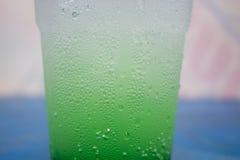 Зеленая сода Стоковая Фотография