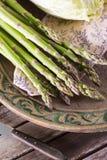 Зеленая спаржа Стоковая Фотография RF