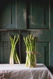 Зеленая спаржа Стоковые Фото