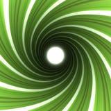 зеленая спираль Стоковое Изображение