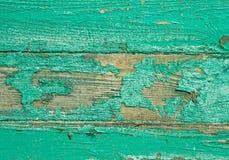 Зеленая старая доска, текстура, предпосылка Стоковые Фотографии RF
