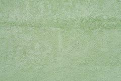Зеленая стена штукатурки дома текстуры Стоковое Фото