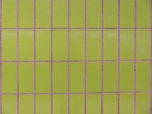 Зеленая структура плитки Стоковое Изображение