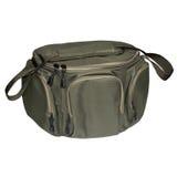 Зеленая сумка для удить стоковое фото rf