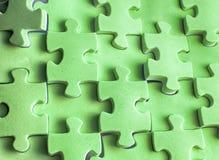 зеленая текстура головоломки Стоковое Изображение RF