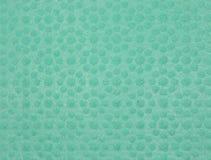 Зеленая текстура губки целлюлозы Стоковое Изображение RF