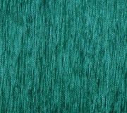 Зеленая текстура ковра ткани Стоковая Фотография