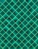 Зеленые плитки Стоковая Фотография