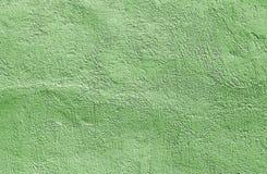 Зеленая текстура стены цемента Стоковая Фотография RF