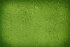 Зеленая текстура стены для использования предпосылки Стоковая Фотография RF