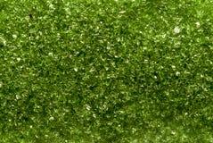 Зеленая текстура слюды Стоковая Фотография