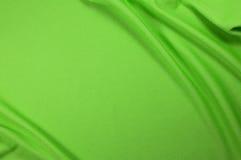 Зеленая текстура ткани спорта Стоковые Фото