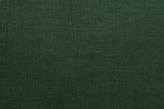зеленая текстура тканья Стоковое Изображение