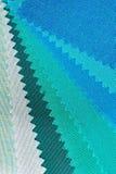 Зеленая текстура тона ткани Стоковая Фотография