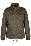 Зеленая теплая куртка стоковые изображения