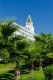 Зеленая территория гостиницы Стоковая Фотография RF