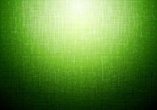 Зеленая техническая абстрактная предпосылка Стоковая Фотография RF