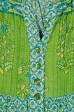 Зеленая ткань Стоковая Фотография