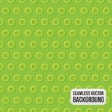 Зеленая ультрамодная безшовная картина Стоковое Фото