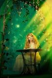 Зеленая фантазия стоковая фотография rf