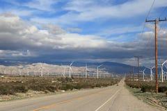Зеленая ферма энергии Стоковая Фотография